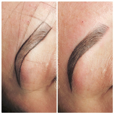 Powder Ombre Eyebrows Permanent Makeup Southern Cosmetic Laser Charleston SC