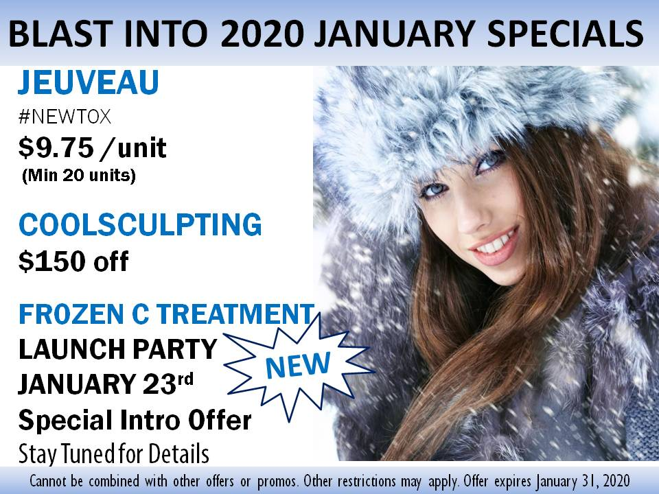 Southern Cosmetic Laser Charleston January 2020 Specials